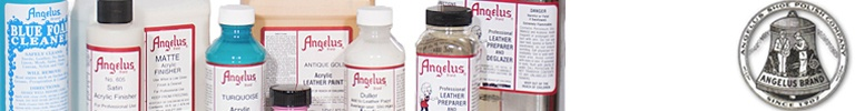 Angelus Dyes & Paint Spray Paint Supplies
