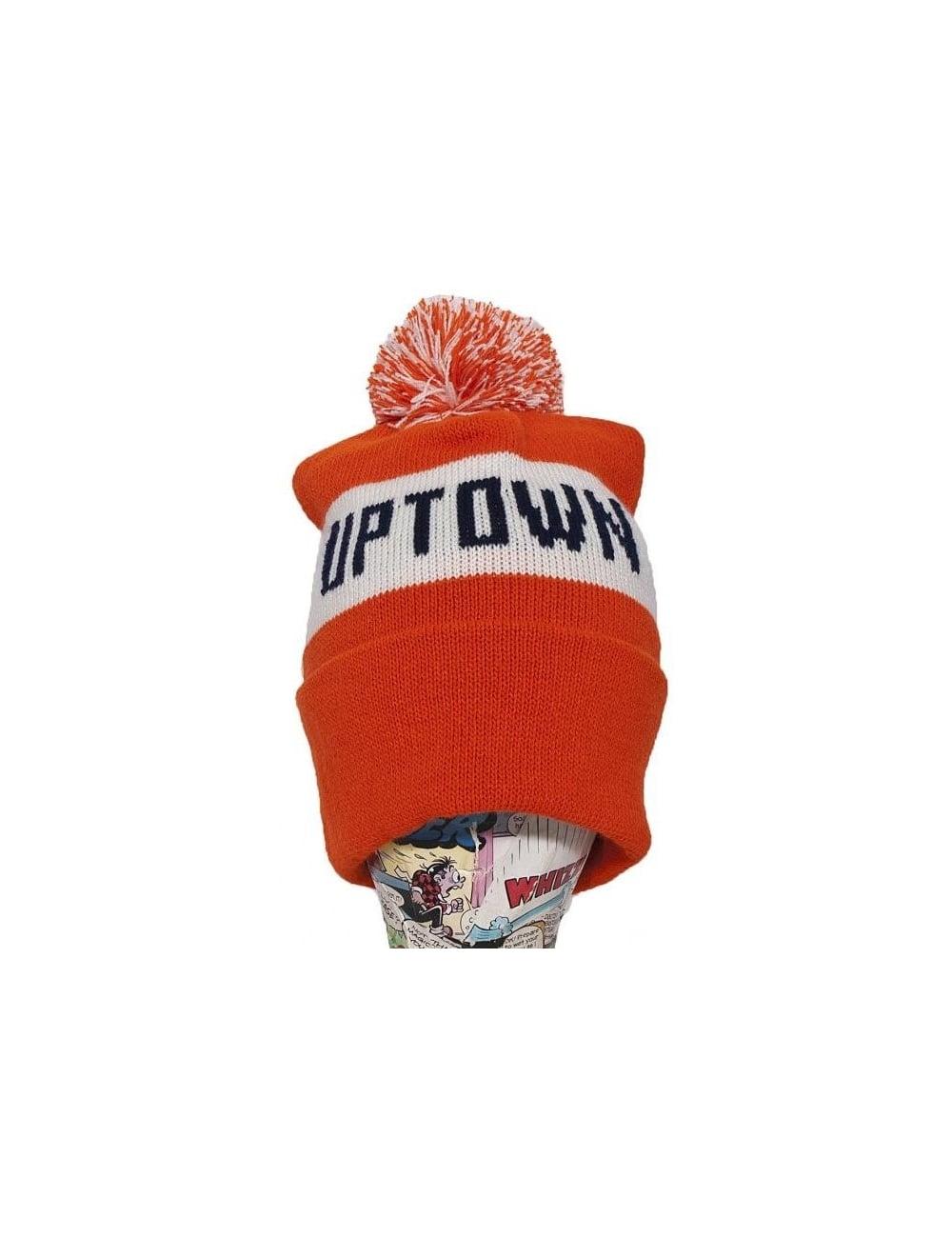 Headwear Only NY Clothing Uptown Wildlife Beanie - Orange