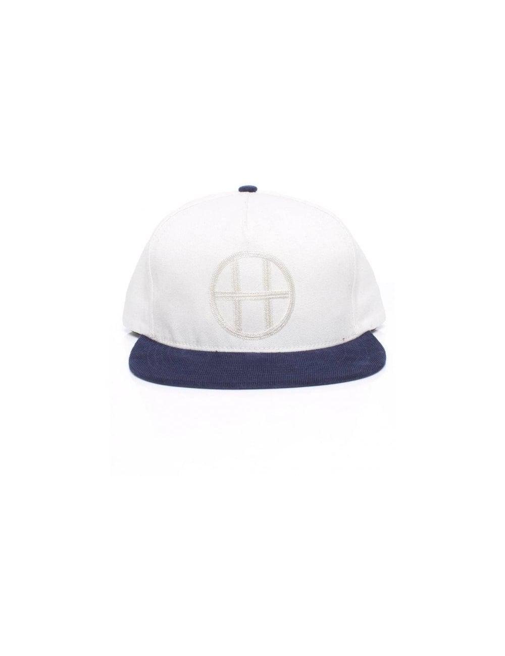 Headwear HUF Clothing Vintage Circle H Snapback - Navy