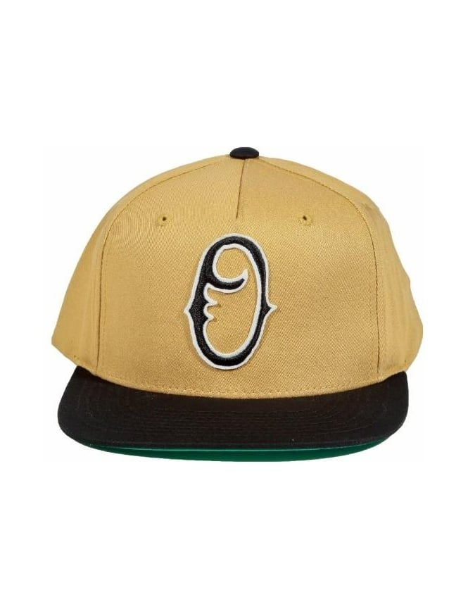 Obey Clothing Staple Snapback - Amber/Gold