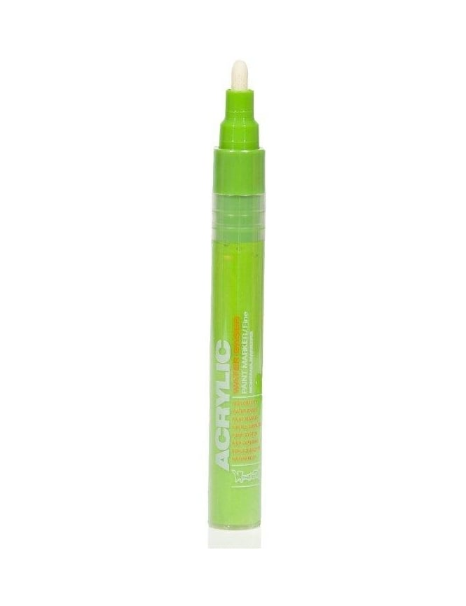 Montana Gold Shock Green Light - 2mm Acrylic Paint Marker