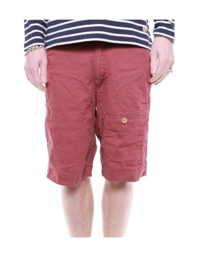 Addict Clothing Patrol Short - Oxblood