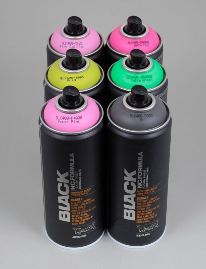 Montana Black Spray Paint Deal 6 Cans Spray Paint Supplies From Iconsume Uk