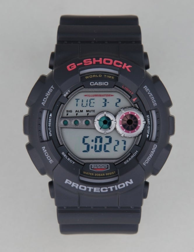 G-Shock GD-100-1AER Watch - Black