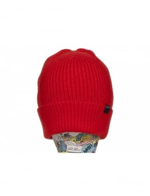 Nixon Regain Beanie - Red Pepper