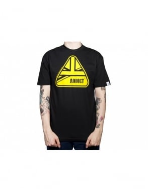 Addict Clothing Union Tee - Black