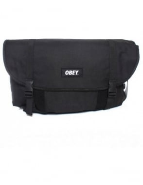 Obey Clothing Field Messenger - Black