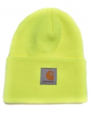 Carhartt Watch Hat - Bright Lime