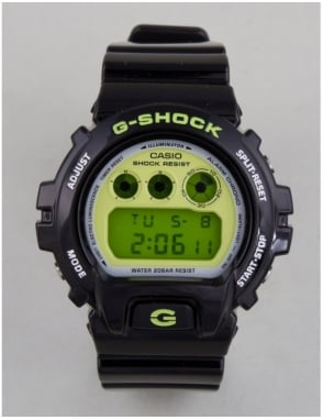 G-Shock DW-6900CS-1ER Watch - Black/Green