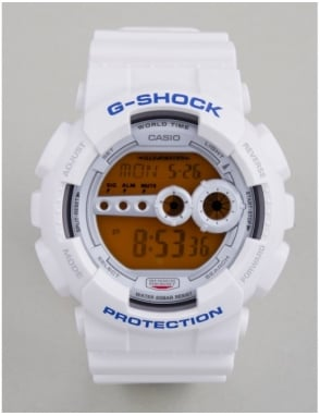 G-Shock GD-100SC-7ER Watch - White
