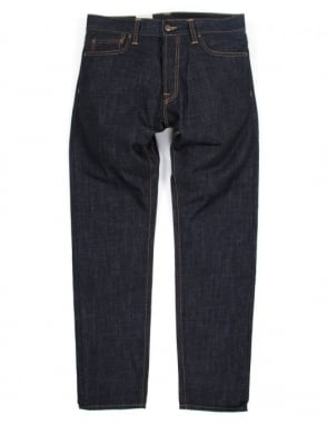 Carhartt Klondike Pant - Blue Rigid (Edgewood Denim)