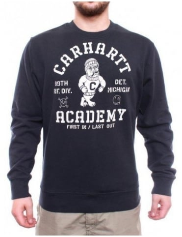Carhartt Academy Sweat - Navy