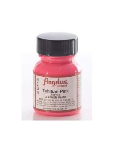 Angelus Dyes & Paint Tahitian Pink 1oz - Leather Paint