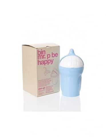 Mr P Propaganda Mr P Be Happy Bin - Blue