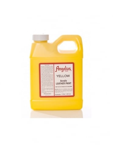 Angelus Dyes & Paint Yellow 1Pt - Leather Paint