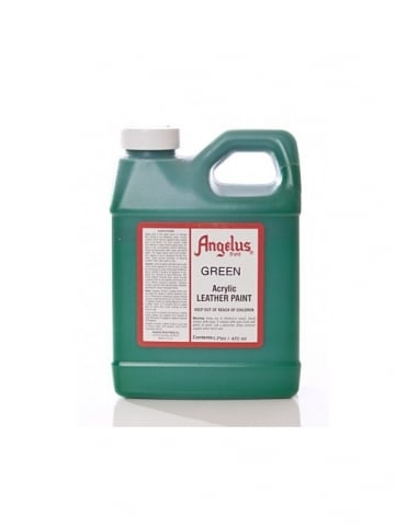 Angelus Dyes & Paint Green 1Pt - Leather Paint