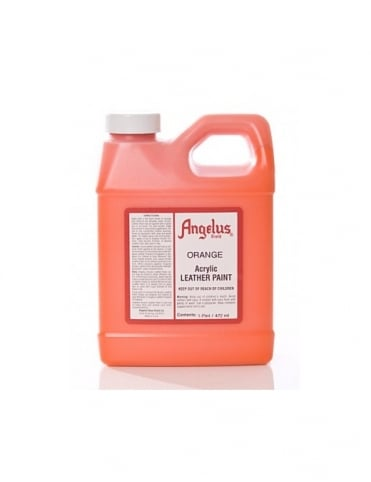 Angelus Dyes & Paint Orange 1Pt - Leather Paint