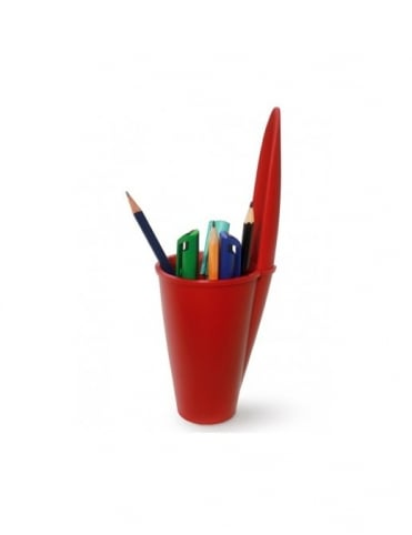 J-Me Gifts Pen Pot Lid - Red