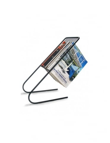 J-Me Gifts Float Magazine Rack - Black