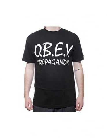 Obey Clothing With Attitude - Black