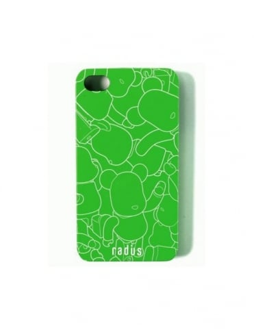 Medicom iPhone 4 Case - Green