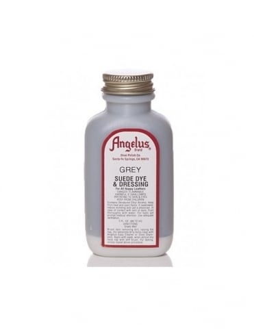 Angelus Dyes & Paint Grey 3oz - Suede Dye