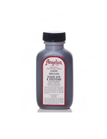 Angelus Dyes & Paint Dark Brown 3oz - Suede Dye