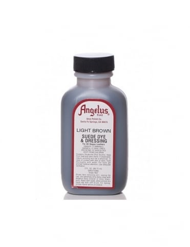 Angelus Dyes & Paint Light Brown 3oz - Suede Dye