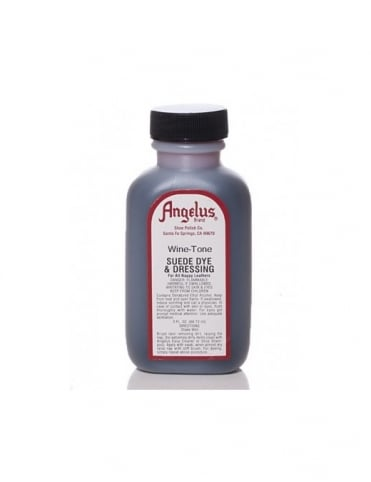 Angelus Dyes & Paint Wine Tone 3oz - Suede Dye