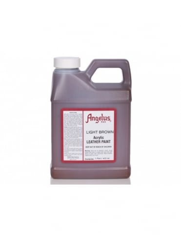 Angelus Dyes & Paint Light Brown 1Pt - Leather Paint