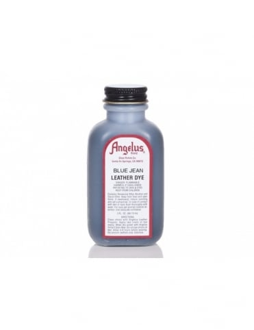 Angelus Dyes & Paint Blue Jean 3oz - Leather Dye