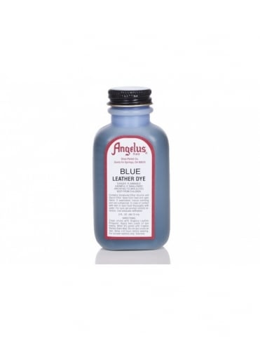 Angelus Dyes & Paint Blue 3oz - Leather Dye
