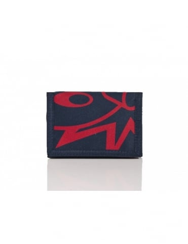 The Hundreds Adam Tri-Fold Wallet - Navy