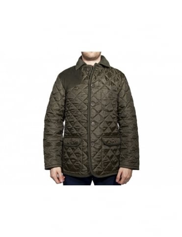 Lavenham Halesworth Elbow Patch Jacket - Spruce
