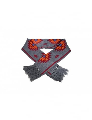 Obey Clothing Navajo Scarf - Heather Charcoal
