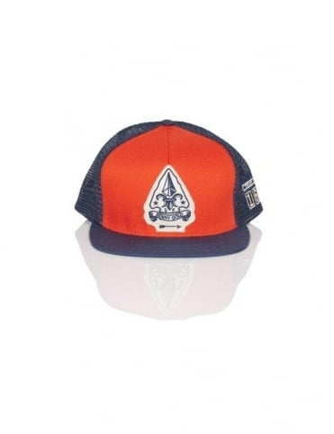 Benny Gold Scout Troop Trucker Mesh - Orange/Navy