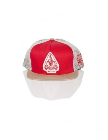 Benny Gold Scout Troop Trucker Mesh - Red/Tan