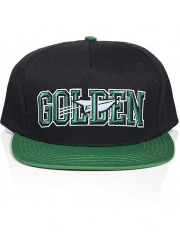 Benny Gold Golden Snapback - Black/Green
