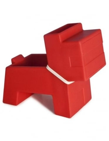 J-Me Gifts Rocky Desk Butler - Red