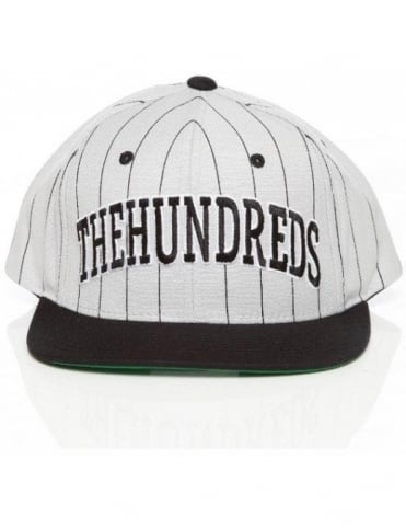 The Hundreds Pins Snapback - White