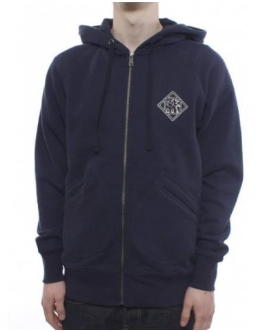 The Hundreds Olympic Zip Hood - Blue