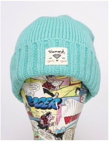 Diamond Supply Co City Cuff Beanie - Diamond Blue