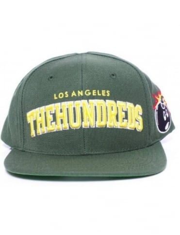 The Hundreds Player Snapback - Green