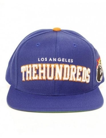 The Hundreds Player Snapback - Blue