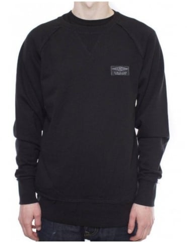 The Hundreds Wind Crewneck - Black
