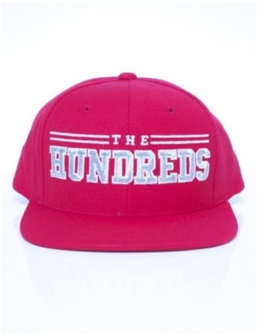 The Hundreds Raidurrs Snapback - Red