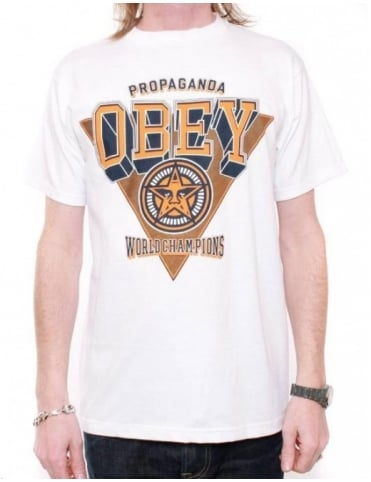 Obey Clothing World Champions Tee - White