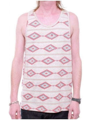 Obey Clothing Indian Summer Vest - Heather Oatmeal