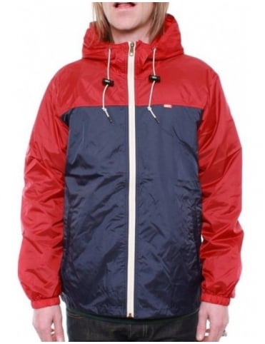 Obey Clothing Standard Issue Windbreaker - Red