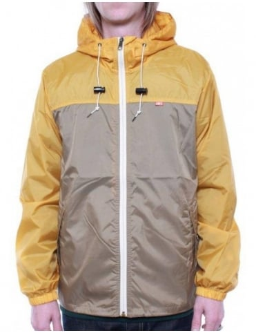Obey Clothing Standard Issue Windbreaker - Mustard